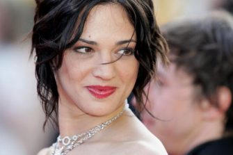 """CANNES, FRANCE - MAY 19:  Italian actress Asia Argento attends the screening of """"Don't Come Knocking"""" at the Palais during the 58th International Cannes Film Festival, May 19, 2005 in Cannes, France.  (Photo by Gareth Cattermole/Getty Images)"""