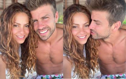 Shakira e Piqué: sui social le foto romantiche alle Maldive