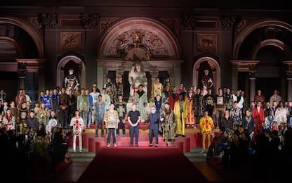 Il Rinascimento di Dolce & Gabbana, l'Alta Sartoria a Palazzo Vecchio