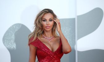 """VENICE, ITALY - SEPTEMBER 03: Madalina Ghenea walks the red carpet ahead of the movie """"Amants"""" at the 77th Venice Film Festival at  on September 03, 2020 in Venice, Italy. (Photo by Elisabetta A. Villa/WireImage,)"""