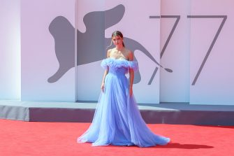 """VENICE, ITALY - SEPTEMBER 04: Natalia Paragoni walks the red carpet ahead of the movie """"I Am Greta"""" at the 77th Venice Film Festival at  on September 04, 2020 in Venice, Italy. (Photo by Ernesto S. Ruscio/Getty Images)"""