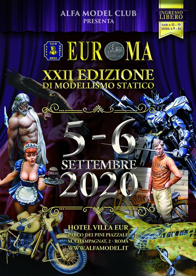 La locandina di EUROMA 2020