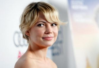"""HOLLYWOOD - NOVEMBER 08:  Actress Michelle Williams arrives at the 2008 AFI FEST premiere of """"Wendy and Lucy"""" held at ArcLight Hollywood on November 8, 2008 in Hollywood, California.  (Photo by Michael Buckner/Getty Images for AFI)"""