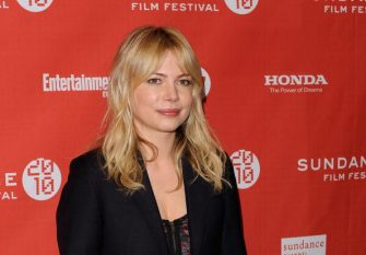 """PARK CITY, UT - JANUARY 24: Actress Michelle Williams attends the """"Blue Valentine"""" premiere during the 2010 Sundance Film Festival at Eccles Center Theatre on January 24, 2010 in Park City, Utah.  (Photo by Jemal Countess/Getty Images)"""