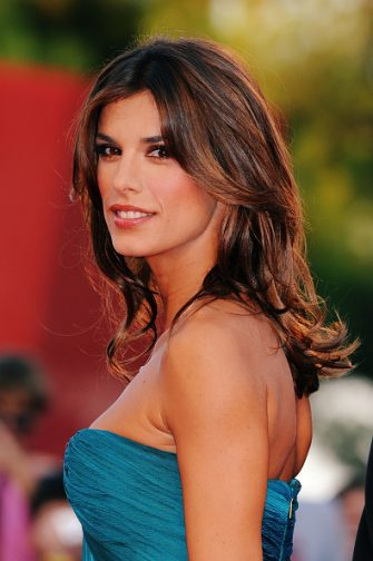 """VENICE, ITALY - SEPTEMBER 08:  Elisabetta Canalis attends """"The Men Who Stare At Goats"""" premiere at the Sala Grande during the 66th Venice Film Festival on September 8, 2009 in Venice, Italy.  (Photo by Pascal Le Segretain/Getty Images)"""