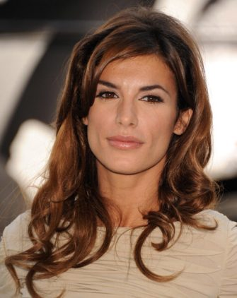 Elisabetta Canalis unveils a Naked Anti-Fur Ad for PETA on Rodeo Drive on September 13, 2011 in Beverly Hills, California.