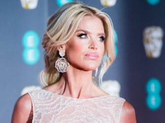 LONDON, ENGLAND - FEBRUARY 02: Victoria Silvstedt attends the EE British Academy Film Awards 2020 at Royal Albert Hall on February 02, 2020 in London, England. (Photo by Samir Hussein/WireImage)