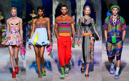 Versace, la collezione primavera-estate 2021