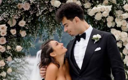 Elettra Lamborghini ha sposato Afrojack, le nozze sul lago di Como