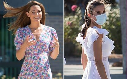 Royal dress, i vestiti più ricercati sono di Kate e Letizia Ortiz