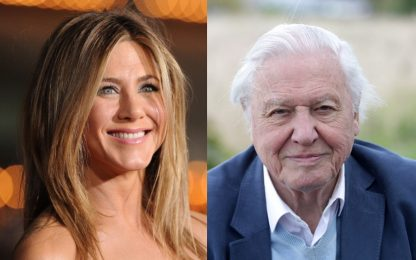 Jennifer Aniston, il record Instagram battuto da David Attenborough