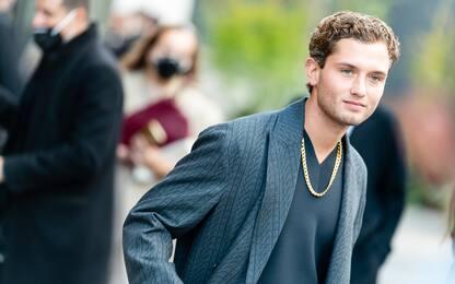 Rafferty, il figlio di Jude Law alla sfilata di Valentino a Milano