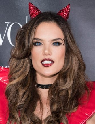WEST HOLLYWOOD, CA - OCTOBER 31:  Model Alessandra Ambrosio attends VO CO Presents Alessandra Ambrosio's Heaven And Hell Halloween Party At 1OAK Los Angeles at 1OAK on October 31, 2015 in West Hollywood, California.  (Photo by Vivien Killilea/Getty Images for VO CO)