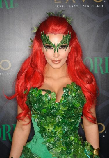NEW YORK, NY - OCTOBER 29:  Kim Kardashion attends the Midori Green Halloween costume party at Lavo on October 29, 2011 in New York City.  (Photo by Dave Kotinsky/Getty Images)