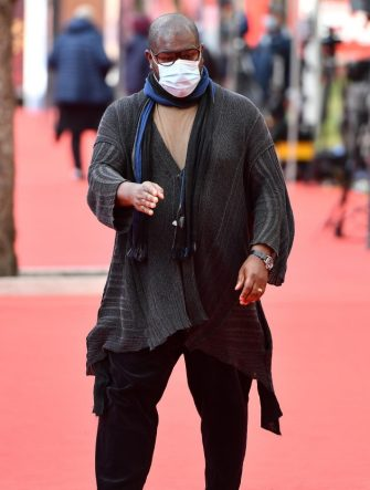 British artist and filmmaker Steve McQueen attends the 15th annual Rome Film Festival, in Rome, Italy, 16 October 2020. The film festival runs from 15 to 25 October.      ANSA/ETTORE FERRARI