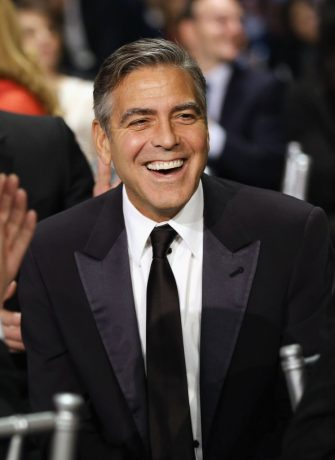 SANTA MONICA, CA - JANUARY 10:  Actor/producer George Clooney attends the 18th Annual Critics' Choice Movie Awards held at Barker Hangar on January 10, 2013 in Santa Monica, California.  (Photo by Christopher Polk/Getty Images for BFCA)