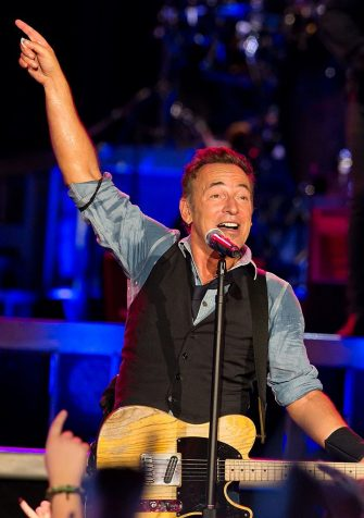 PHILADELPHIA, PA - SEPTEMBER 02:  Bruce Springsteen And The E Street Band  perform at Citizens Bank Park on September 2, 2012 in Philadelphia, Pennsylvania.  (Photo by Gilbert Carrasquillo/WireImage)