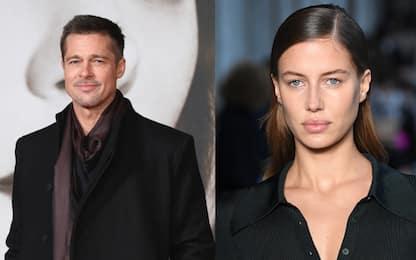 Brad Pitt è di nuovo single: finita la storia con Nicole Poturalski