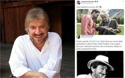 Addio a Gigi Proietti, la commozione sui social. FOTO