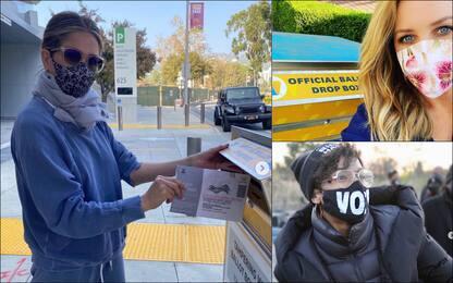 Elezioni Usa 2020, le star votano e invitano i cittadini a votare