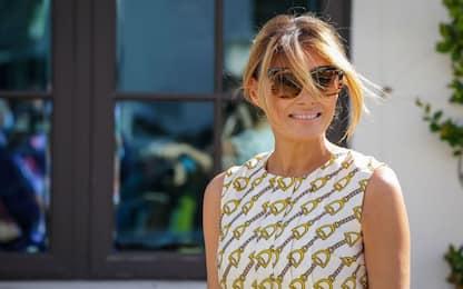 Elezioni Usa 2020, Melania Trump sceglie un vestito Gucci per il voto