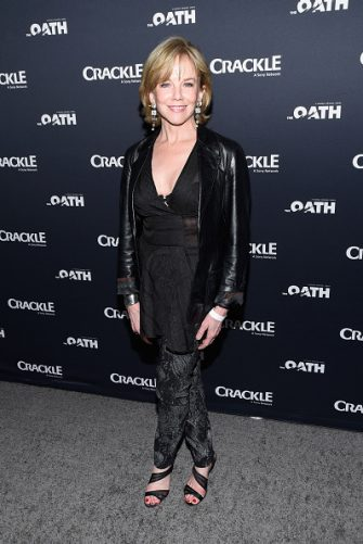 """CULVER CITY, CA - MARCH 07:  Actress Linda Purl attends the premiere of Crackle's """"The Oath"""" at Sony Pictures Studios on March 7, 2018 in Culver City, California.  (Photo by Michael Tullberg/Getty Images)"""
