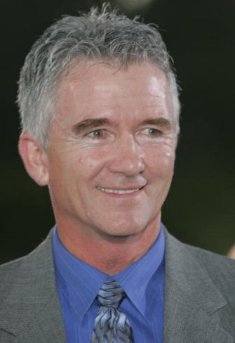 NEWPORT, WALES - AUGUST 27: Patrick Duffy arrives at the red carpet Gala Dinner as part of The All-Star Cup Celebrity Golf event at the Celtic Manor Resort on August 27, 2005 Newport, Wales. The cup - the brainchild of Anthony McPartlin and Declan Donnelly - sees 2 teams of 10 celebrities from Europe and the US taking part over the Roman Road course, venue of the 2010 Ryder Cup, with Colin Montgomerie and Mark O'Meara as the non-playing captains of the European and US teams respectively.  The cup will be presented by Kirsty Gallacher and Jamie Theakston. (Photo by Matt Cardy/Getty Images)