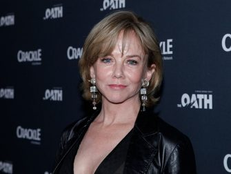 CULVER CITY, CA - MARCH 07:  Linda Purl attends the premiere of Crackle's 'The Oath' at Sony Pictures Studios on March 7, 2018 in Culver City, California.  (Photo by Tibrina Hobson/Getty Images)