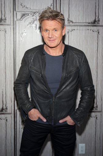 """NEW YORK, NY - JUNE 22:  Gordon Ramsay attends AOL Build Presents to discuss """"Gordon Ramsay Dash"""" at AOL Studios In New York on June 22, 2016 in New York City.  (Photo by Santiago Felipe/Getty Images)"""