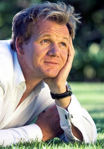 Celebrity Chef Gordon Ramsey poses for a portrait in the grounds of the Beverly Hills Hotel on October 7, 2007 in Beverly Hills, California. (Photo by Eddie Sanderson/Getty Images)