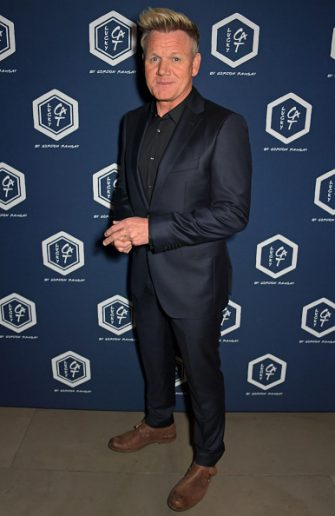 LONDON, ENGLAND - SEPTEMBER 02:   Gordon Ramsay attends the official launch party of Lucky Cat by Gordon Ramsay in Grosvenor Square, Mayfair on September 2, 2019 in London, England.  Guests enjoyed an array of cocktails, canapés, sushi from the Raw Bar and sparkling sake as DJ Fat Tony entertained the crowd until the early hours.  (Photo by David M. Benett/Dave Benett/Getty Images for Lucky Cat)