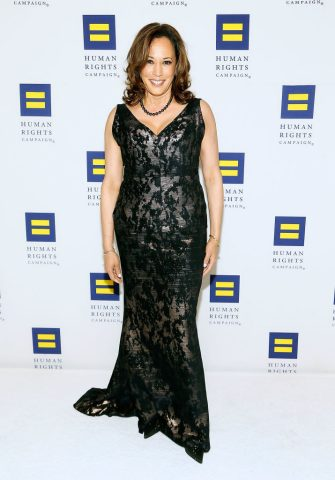 WASHINGTON, DC - SEPTEMBER 15:  Sen. Kamala Harris attends the 22nd annual Human Rights Campaign National Dinner at the Walter E. Washington Convention Center on September 15, 2018 in Washington, DC.  (Photo by Paul Morigi/Getty Images)