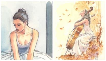 """Milo Manara disegna per la cultura: """"Spero che tutto riparta presto"""""""