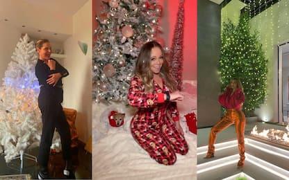 I vip che hanno già fatto l'albero di Natale. FOTO