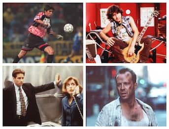 Bruce Willis, X-Files, Ligabue: com'era il mondo quando esordì Buffon?