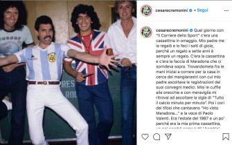 Addio a Maradona