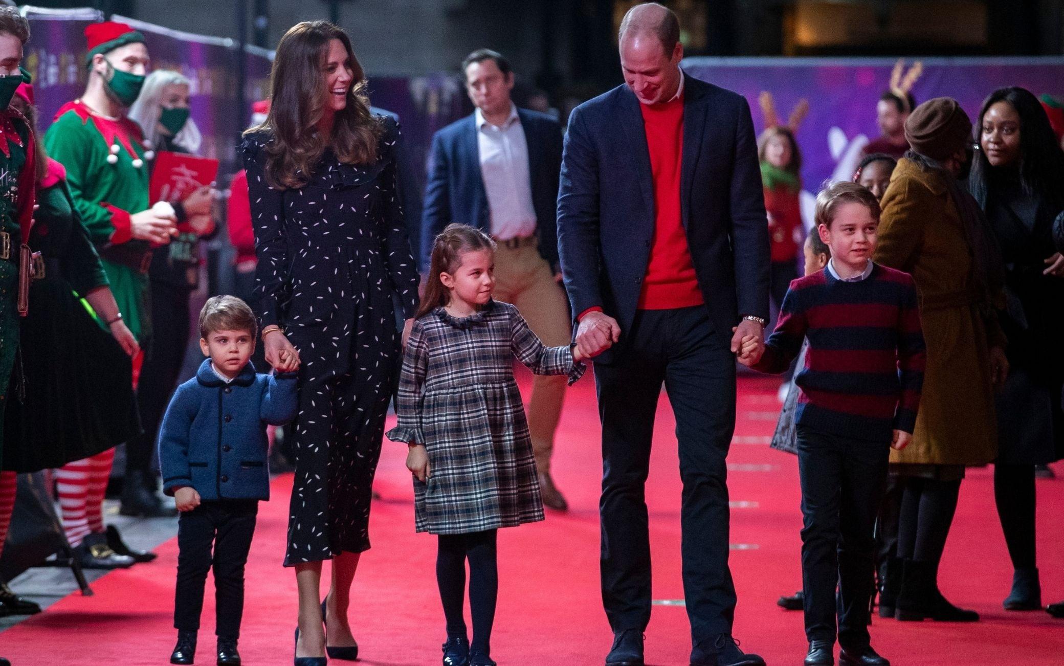 Principe William, Kate Middleton e figli