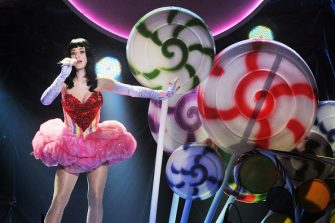 Katy Perry, California Dreams Tour, Vorst Nationaal, Brussels, Belgium, 10 March 2011. (Photo by Gie Knaeps/Getty Images)