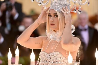 NEW YORK, NEW YORK - MAY 06: Katy Perry attends The 2019 Met Gala Celebrating Camp: Notes on Fashion at Metropolitan Museum of Art on May 06, 2019 in New York City. (Photo by Theo Wargo/WireImage)