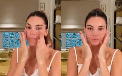 Il bagno di lusso di Kendall Jenner: ha una vasca placcata in oro