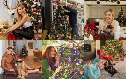 Natale 2020 a casa dei vip: da Chiara Ferragni a Kate Hudson
