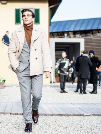 FLORENCE, ITALY - JANUARY 10:  General view during 91 Pitti Immagine Uomo on January 10, 2017 in Florence, Italy.  (Photo by Claudio Lavenia/Getty Images)