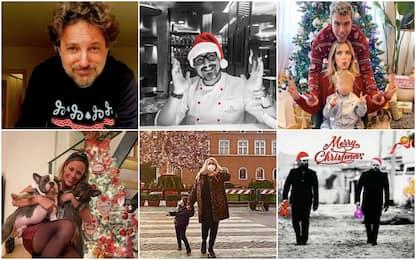 Dai Ferragnez a Levante: gli auguri di Natale social dei vip