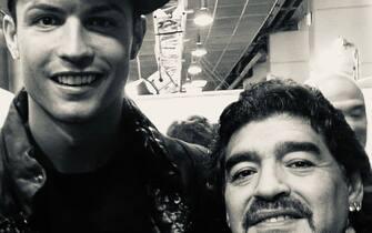 Cristiano Ronaldo e Maradona