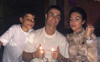 Cristiano Ronaldo, Georgina Rodriguez e figlio