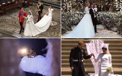 Chi veste la sposa, da Kate Middleton a Ferragni. FOTO