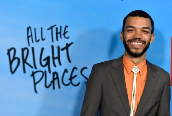 """HOLLYWOOD, CALIFORNIA - FEBRUARY 24:  Justice Smith attends a Special Screening Of Netflix's """"All The Bright Places"""" at ArcLight Hollywood on February 24, 2020 in Hollywood, California. (Photo by Frazer Harrison/Getty Images)"""