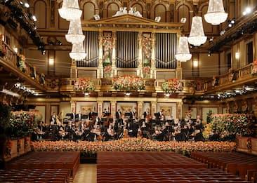 Vienna, concerto nuovo anno senza pubblico e con applausi registrati