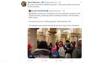 Le reazioni delle star all'assalto al congresso Usa