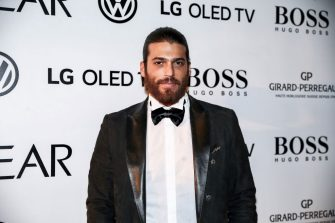 ISTANBUL, TURKEY - FEBRUARY 13: Actor Can Yaman, who was chosen 'Rising Star of the Year' award, attends the GQ Men Of The Year Award Ceremony at the Volkswagen Arena in Istanbul, Turkey on February 13, 2019. (Photo by Ahmet Bolat/Anadolu Agency/Getty Images)